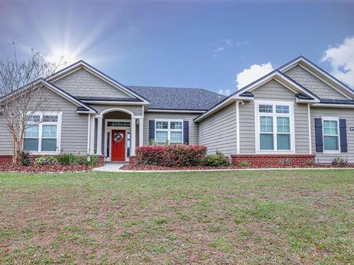 Country Cinnamon Hills Home : High Springs : Alachua County : Florida
