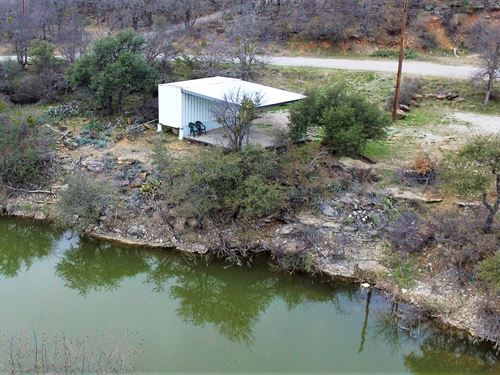 Waterfront Lot At Lake Brownwood : May : Brown County : Texas