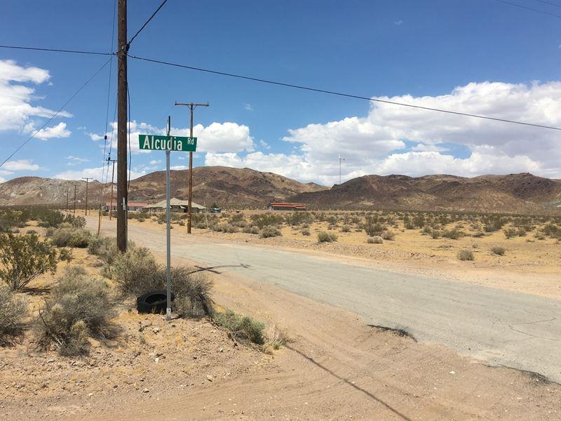Great Views, Borders Blm, $171/Mo : Barstow : San Bernardino County : California