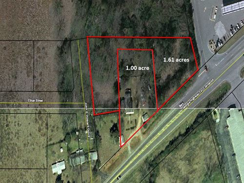 Prime 2.61 Acre Commercial Lot : Byron : Peach County : Georgia