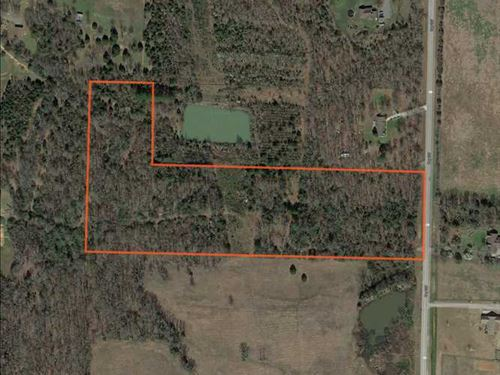 12.25 Acre Lot on Hwy 287 With Ele : Greenbrier : Faulkner County : Arkansas