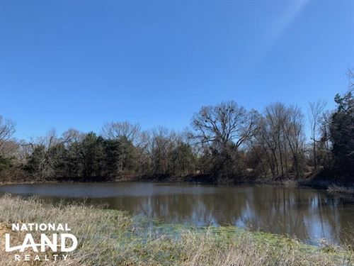 12.7 Acres in Scurry Wildlife, Wate : Scurry : Kaufman County : Texas