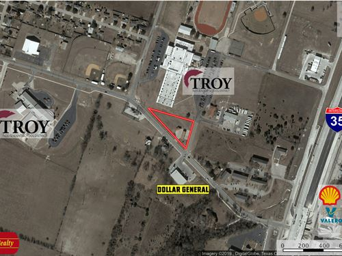 Retail Site Nwc Main & Trojan : Troy : Bell County : Texas