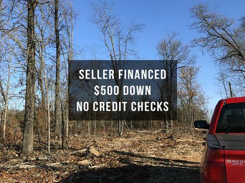 Seller Financed 14 Acres With Views : Ava : Douglas County : Missouri