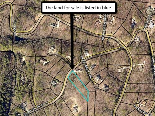 $25,000 Lot For Only $9,999 : Talking Rock : Gilmer County : Georgia
