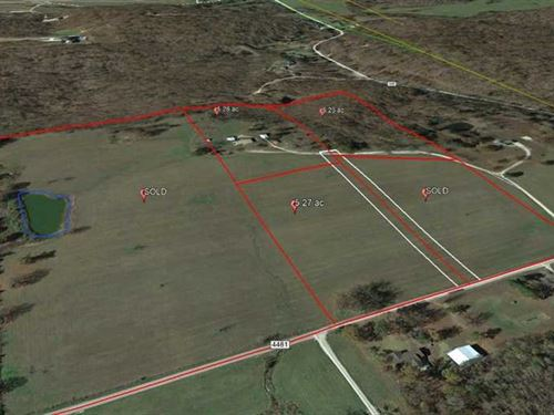5.25 Wooded Acre Lot For Sale in : Poplar Bluff : Butler County : Missouri