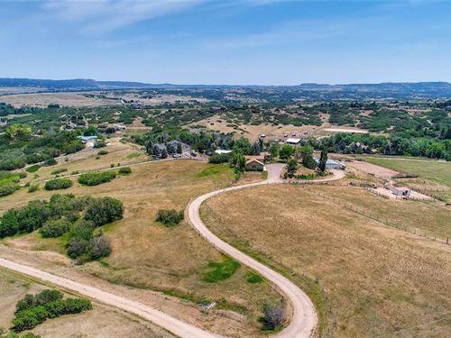 Equestrian Property : Sedalia : Douglas County : Colorado