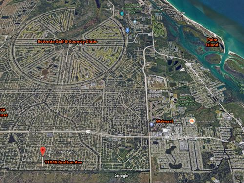 Englewood, Florida Land Near Beach : Englewood : Charlotte County : Florida