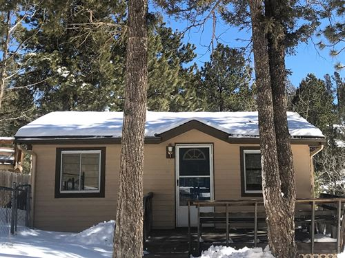Mountain Cabin With Garage For Sale : Woodland Park : Teller County : Colorado