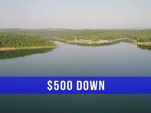 3 Acre Tract On Bull Shoals Lake : Cedarcreek : Taney County : Missouri