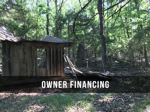 4 Acres With Old Homestead : Cedarcreek : Douglas County : Missouri