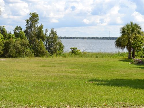 Lake Reedy Lakefront Lot : Frostproof : Polk County : Florida