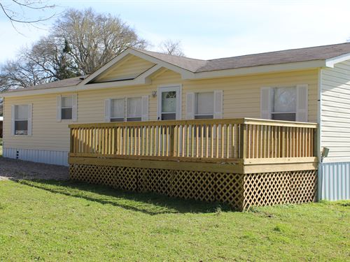 Modular Home With 4 Acres & Pond : Detroit : Red River County : Texas