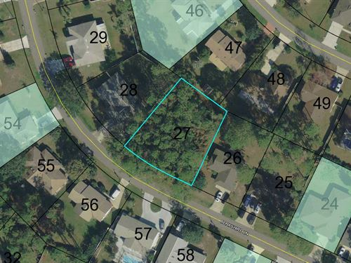 Building Lot In Established Neighbo : Palm Coast : Flagler County : Florida