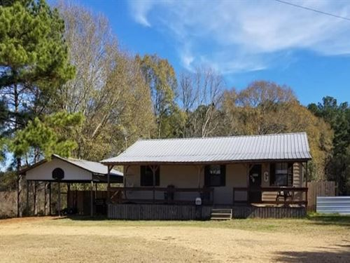 1.92 Acres With A Home In Lawrence : Ruth : Lawrence County : Mississippi