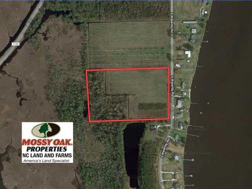 11 Acre Mini Farm With Sound View : Coinjock : Currituck County : North Carolina