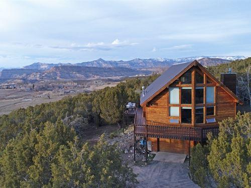 Cabin Small Acreage That Has Access : Mesa : Colorado
