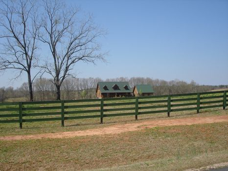 Beautiful Cypress Log Home : Hogansville : Meriwether County : Georgia