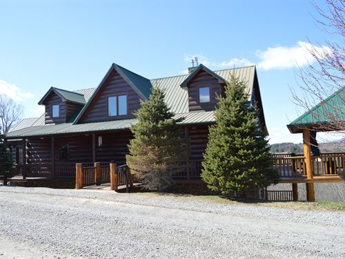 Magnificent Long Range Views From : Piney Creek : Alleghany County : North Carolina