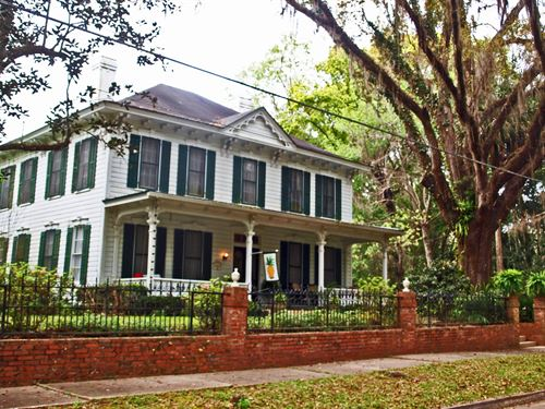 Historic North Florida Home : Monticello : Jefferson County : Florida