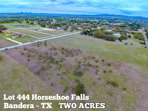 2.02 Acres In Bandera County : Bandera : Texas