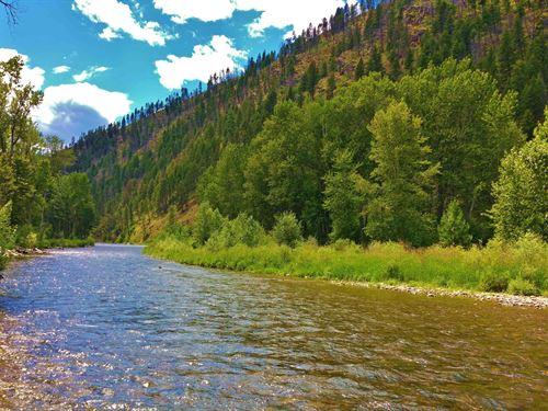 Blue Ribbon Rock Creek Western Mont : Missoula : Granite County : Montana