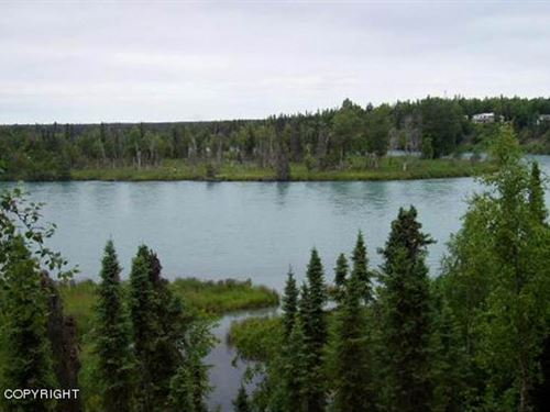 Riverfront Lot Perfect For Buildin : Soldotna : Kenai Peninsula Borough : Alaska