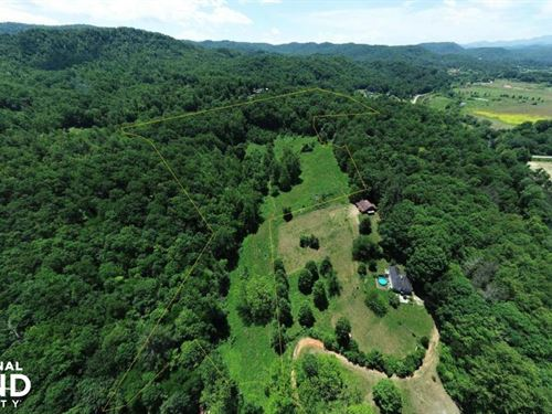 Mini Farm Pastures With Ridge Views : Hendersonville : Henderson County : North Carolina