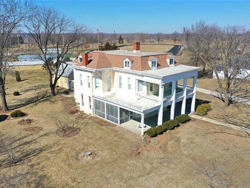 7 BR / 6 BA Grand Home For Sale in : Keosauqua : Van Buren County : Iowa