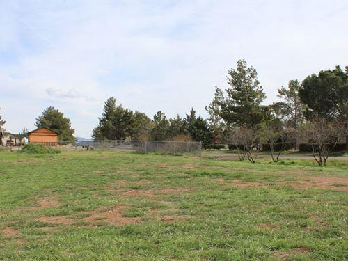 Site Build Home Property Cordes : Cordes Lakes : Yavapai County : Arizona