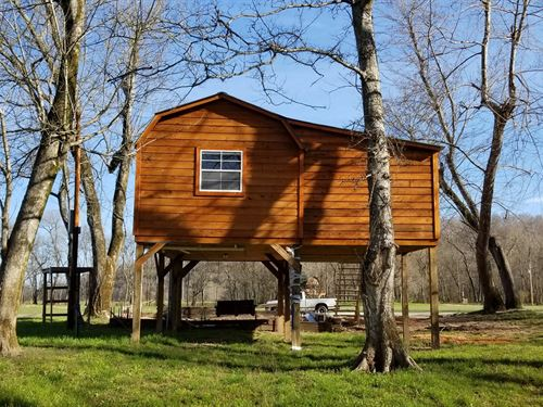 Cabin Buffalo River Perry County TN : Lobelville : Perry County : Tennessee