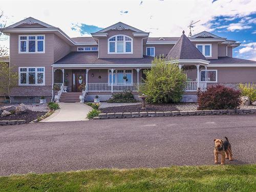 Executive Home Idaho Perfect : Grangeville : Idaho County : Idaho