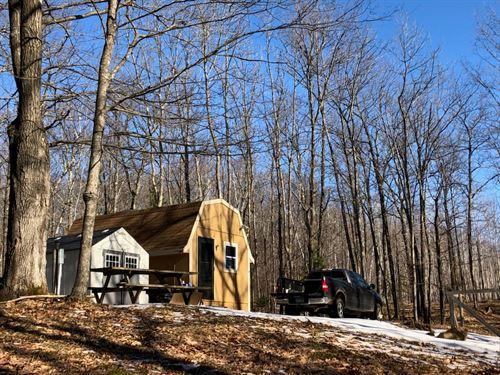 Acreage Seasonal Cabin Woods, Bruno : Bruno : Pine County : Minnesota