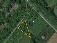 Rural Lot On R-O-W In Washington : Township Of Washington : Warren County : New Jersey