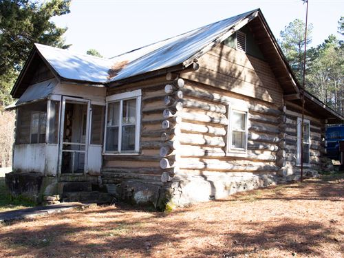 Rustic Cabin With Fishing Pond : Dennard : Van Buren County : Arkansas