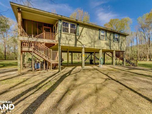 Warrior River Retreat : Knoxville : Greene County : Alabama