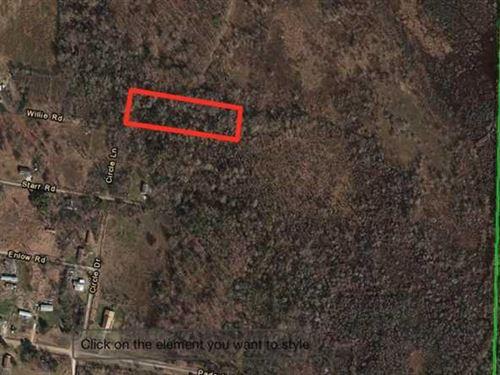 2.25 Acres in Pine City, AR Very : Pine City : Monroe County : Arkansas