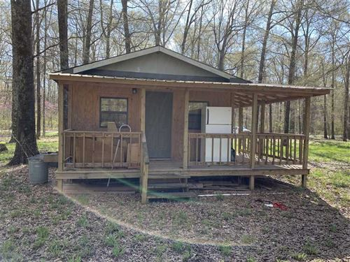 Cabin + Pond + Hurricane Wma Rec : Bald Knob : White County : Arkansas
