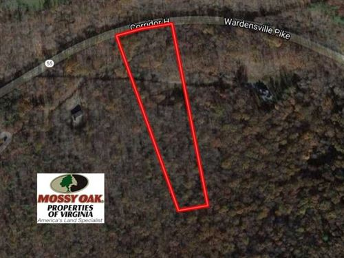 5.04 Acres of Residential Land For : Star Tannery : Frederick County : Virginia