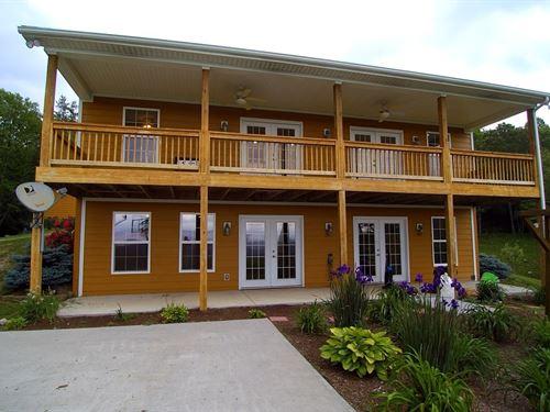 Blue Ridge Mountain Mini-Farm : Troutdale : Grayson County : Virginia