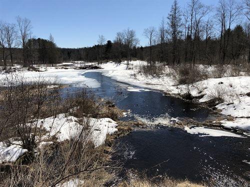 Carleton Brook Views : Camden : Oneida County : New York