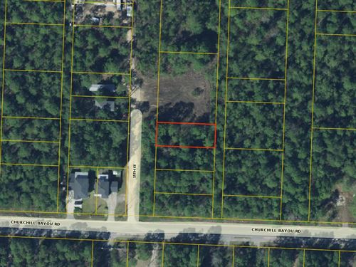 Lot Right Near Boat Ramp Financing : Santa Rosa Beach : Walton County : Florida