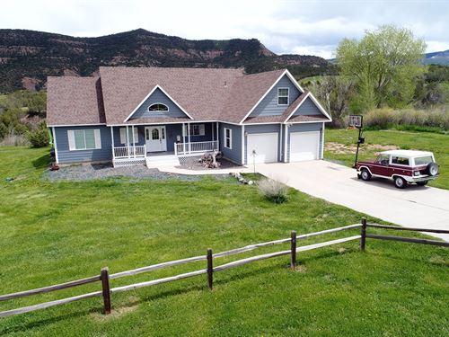 Home For Sale in Collbran CO : Collbran : Mesa County : Colorado