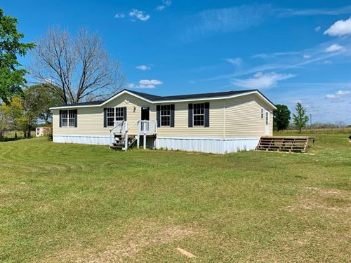 4B/2B Mobile Home 1 Acre Slocomb : Slocomb : Geneva County : Alabama