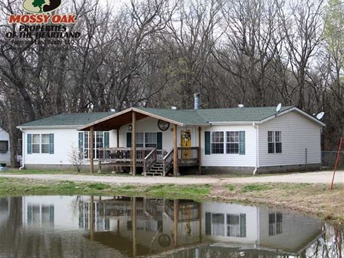 Country Living on 15.5 Acres : Thayer : Neosho County : Kansas