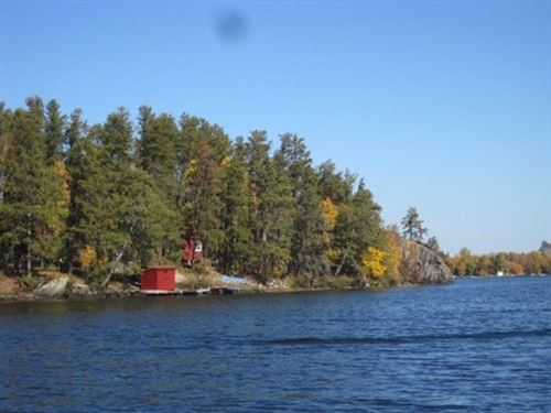 Private Island Rainy Lake : International Falls : Koochiching County : Minnesota