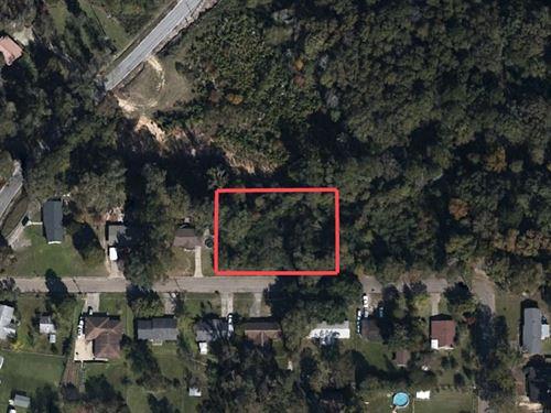 Lovely Half Acre Lot : Laurel : Jones County : Mississippi
