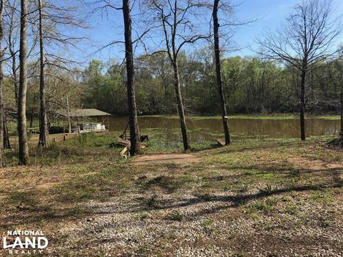 Brush Creek Fishing Camp : Akron : Hale County : Alabama