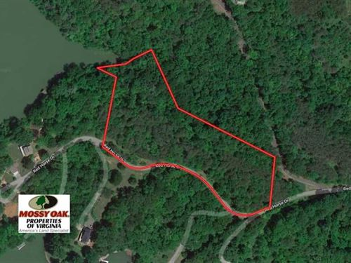 5.4 Acres of Waterfront Recreation : Goodview : Bedford County : Virginia