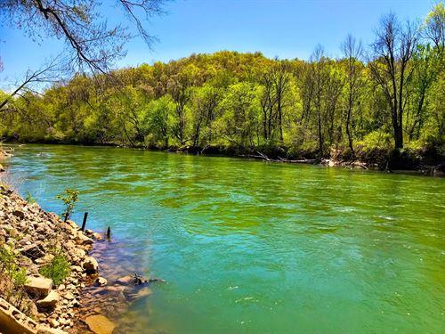 Eleven Point River Property : Pocahontas : Randolph County : Arkansas